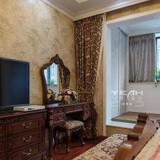 面积144平别墅卧室欧式实景图片