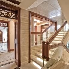 欧式楼梯栏杆装修效果图