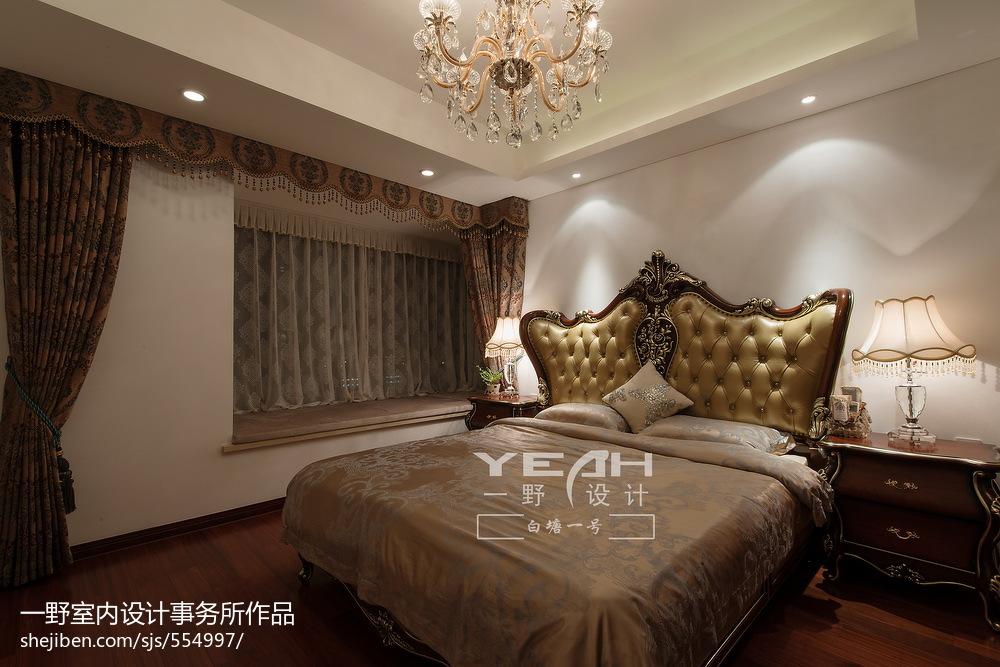 精选面积127平欧式四居卧室设计效果图