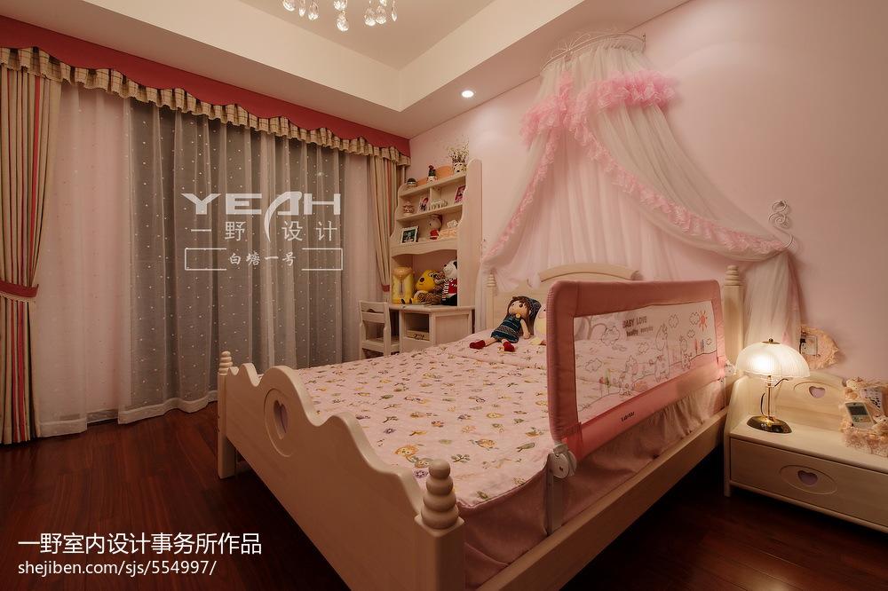 精美四居儿童房欧式装饰图片欣赏