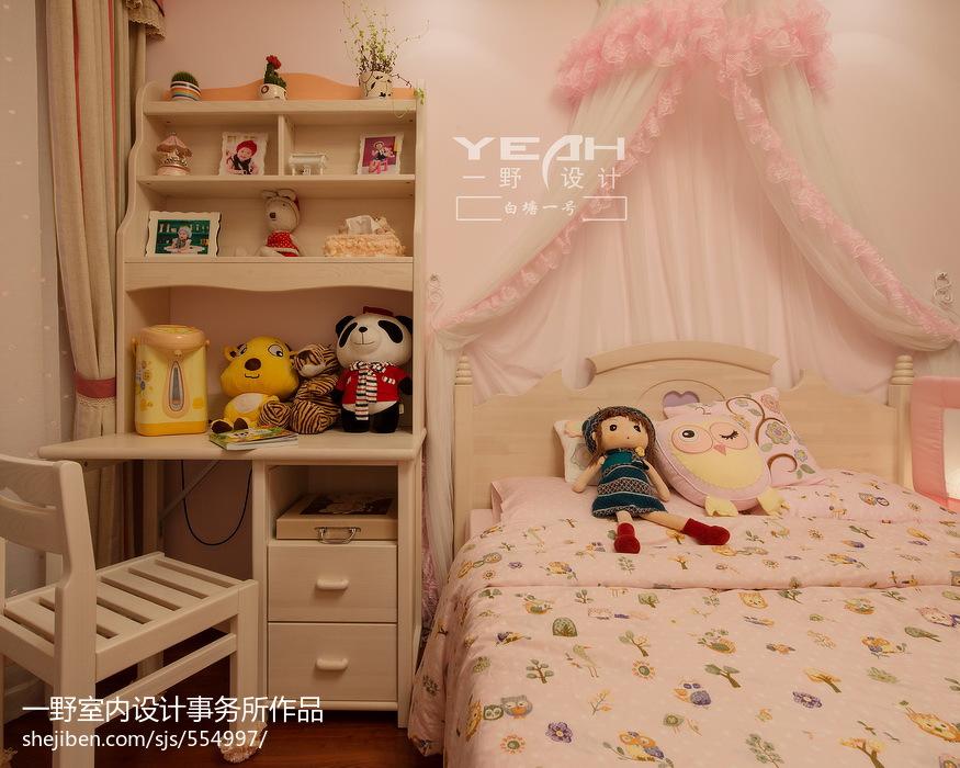 精选126平米四居儿童房欧式效果图