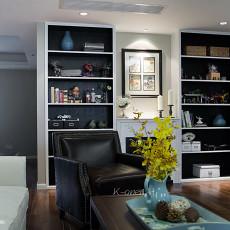 热门108平米三居客厅美式装修设计效果图片大全