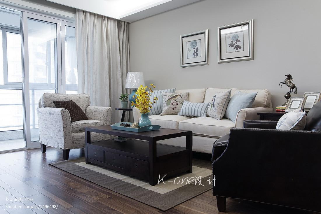 美式客厅布置效果图
