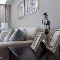 精美94平米三居客厅美式装饰图片大全