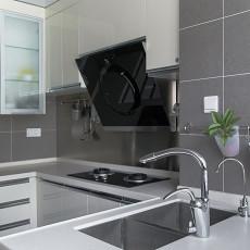 102平方三居厨房美式装修图片欣赏