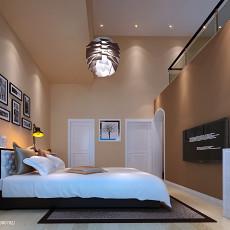 2018面积111平别墅卧室现代装饰图片欣赏