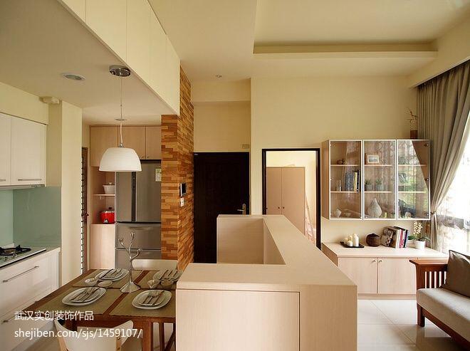 精美83平米二居餐厅现代装饰图片欣赏