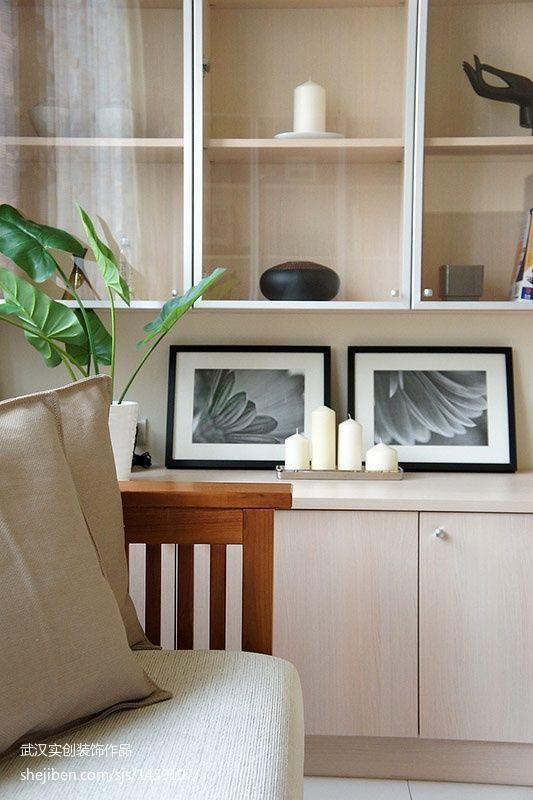 面积81平现代二居客厅装修图片
