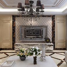 精美大小111平欧式四居客厅装饰图片大全