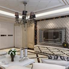 精选134平米四居客厅欧式欣赏图