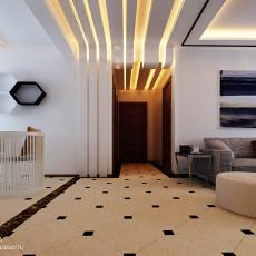 精选面积85平现代二居客厅实景图片欣赏