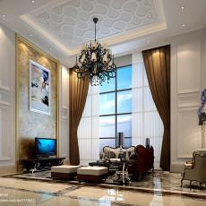 热门130平米欧式复式客厅装修效果图片欣赏