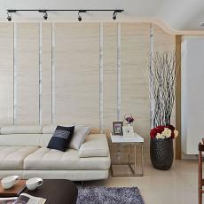 2018精选面积94平现代三居客厅装修效果图片
