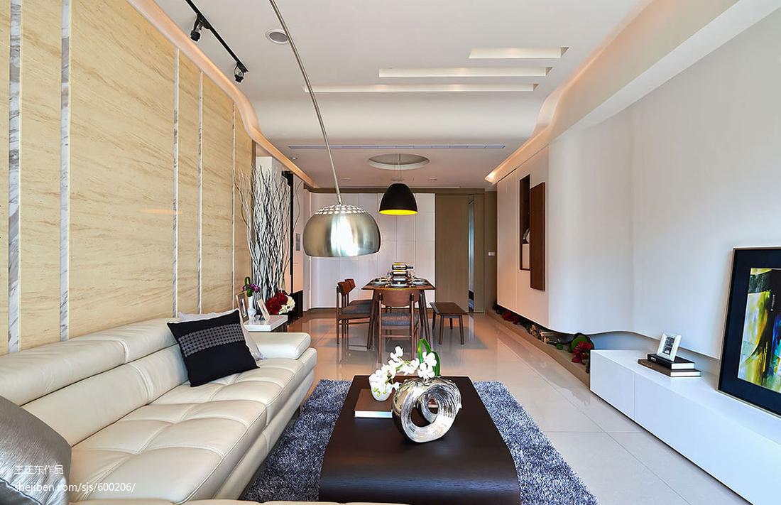 現代風格客廳背景墻裝修效果圖大全
