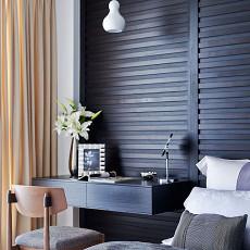精美面积109平现代三居卧室效果图片