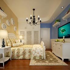 精美地中海二居卧室欣赏图