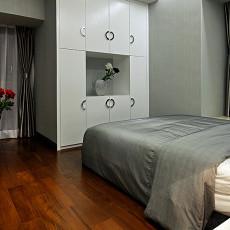 热门123平米四居卧室现代装修实景图片