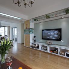 热门面积92平现代三居客厅装修设计效果图片欣赏