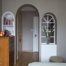 热门面积90平现代三居卧室装修图片