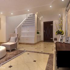精美面积140平复式客厅欧式效果图