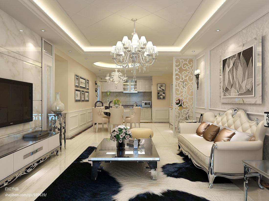 美式时尚室内装修效果图