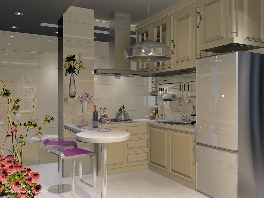 现代小户型厨房装修效果图大全