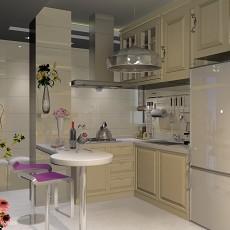 2018精选75平米现代小户型厨房装修实景图片大全