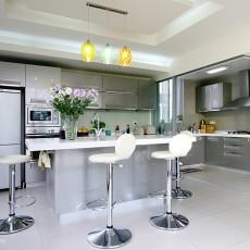热门现代别墅厨房效果图片欣赏