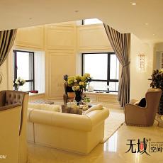热门美式客厅装修实景图片欣赏