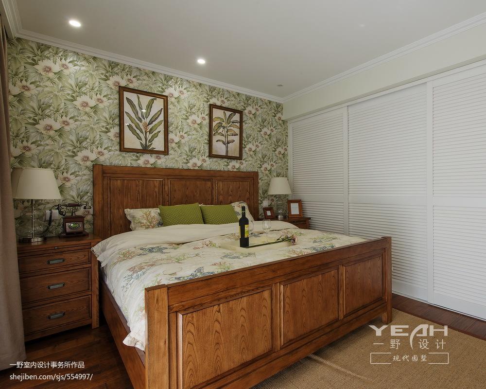 美式卧室装修效果图欣赏