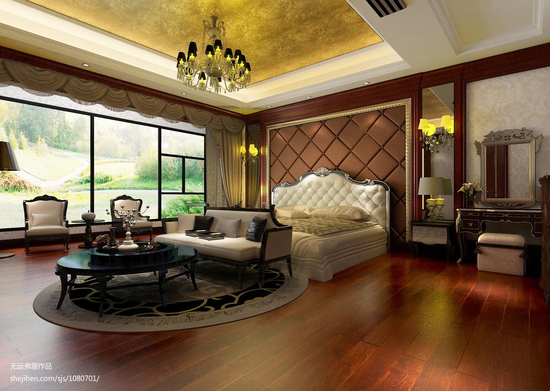 室内设计四室两厅装修效果图
