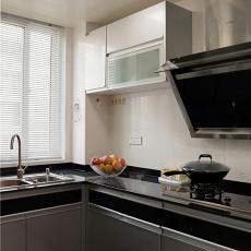 2018精选98平米三居厨房现代效果图片
