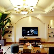 精选90平方三居客厅美式效果图片大全