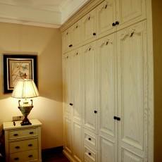 精选99平方三居卧室美式装修效果图片欣赏
