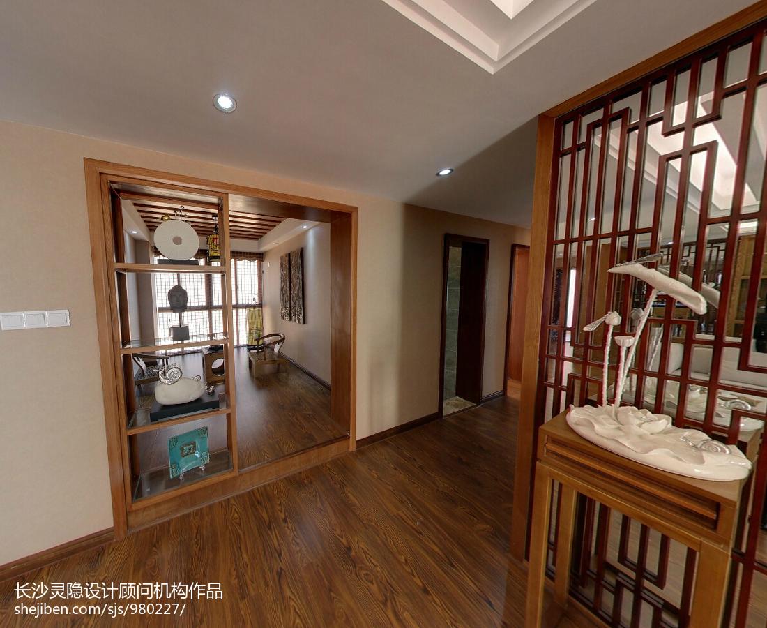 精美121平米四居客厅中式效果图片