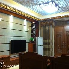 2018精选114平米中式别墅客厅装修效果图片