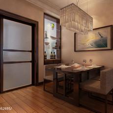 精选92平米三居餐厅中式欣赏图