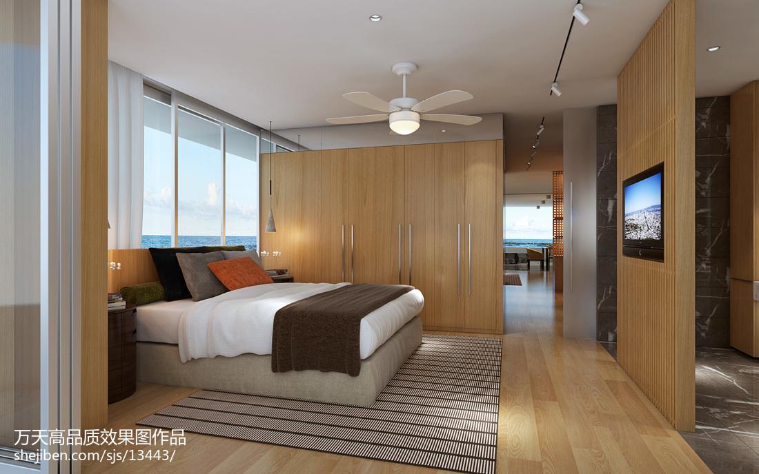 125平米现代别墅装饰图
