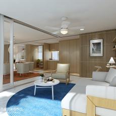 热门111平方现代别墅客厅效果图片大全