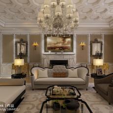 别墅客厅新古典装修效果图片欣赏