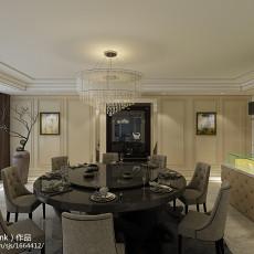 精选面积126平别墅餐厅新古典装修效果图片大全