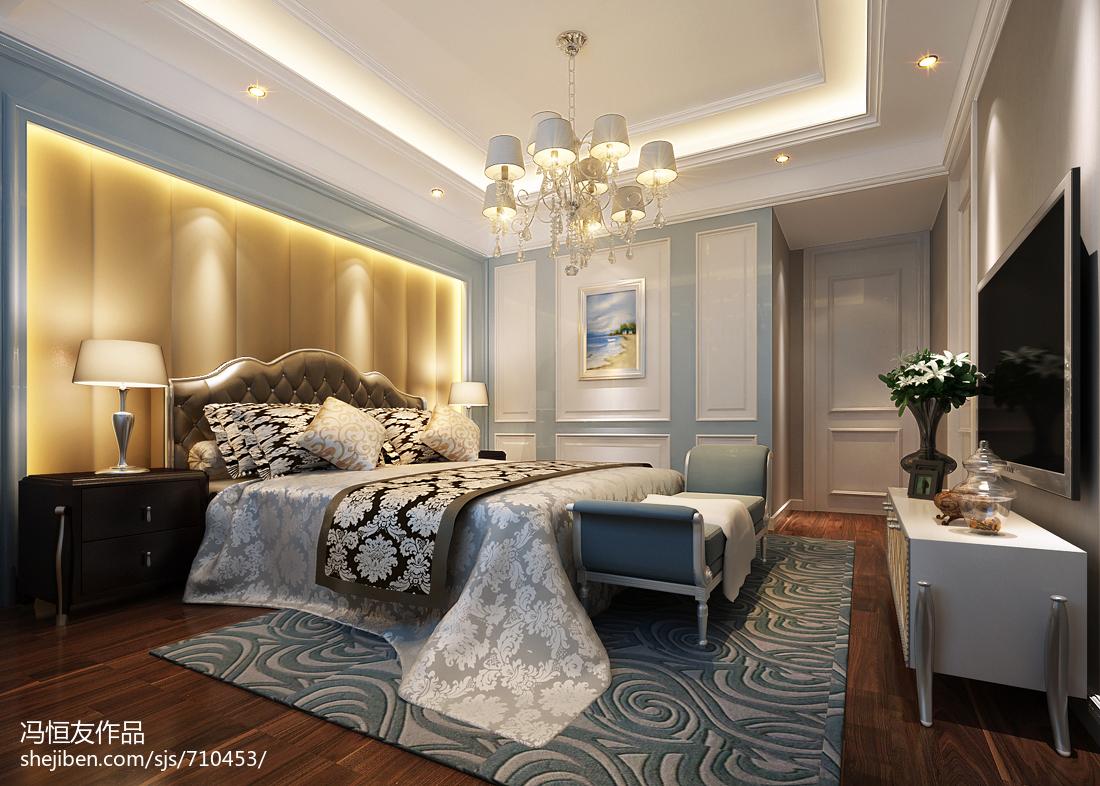 欧式卧室墙布