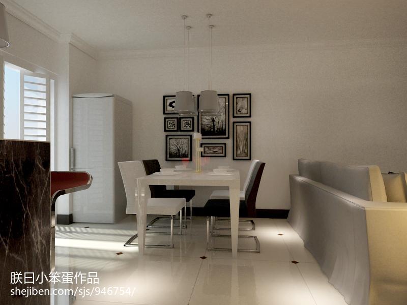 2018精选89平方二居餐厅现代效果图片大全