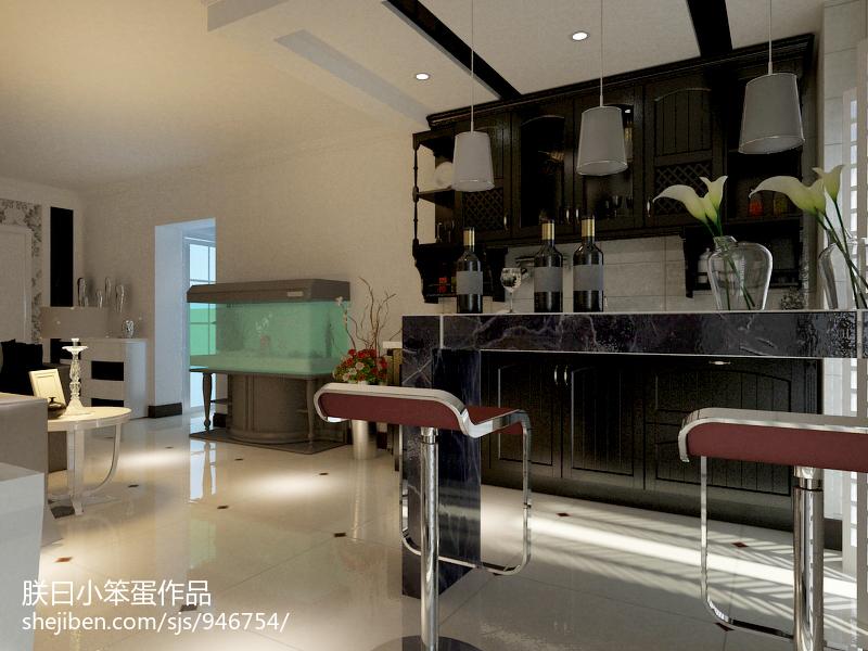 热门77平方二居厨房现代装修欣赏图