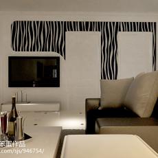 精美83平米二居客厅现代装修欣赏图片