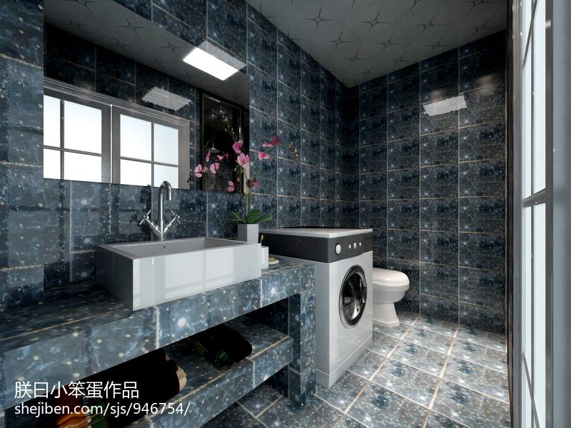 精选二居卫生间现代效果图片欣赏