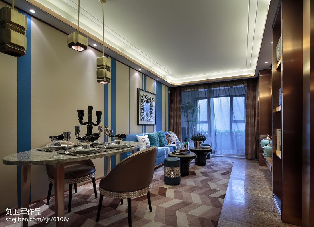 现代风格客厅背景墙装修图片