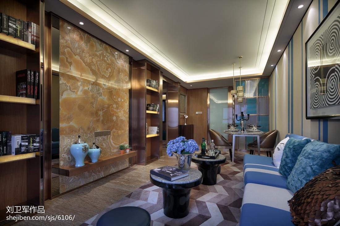 73.3平热门客厅现代装修图片欣赏