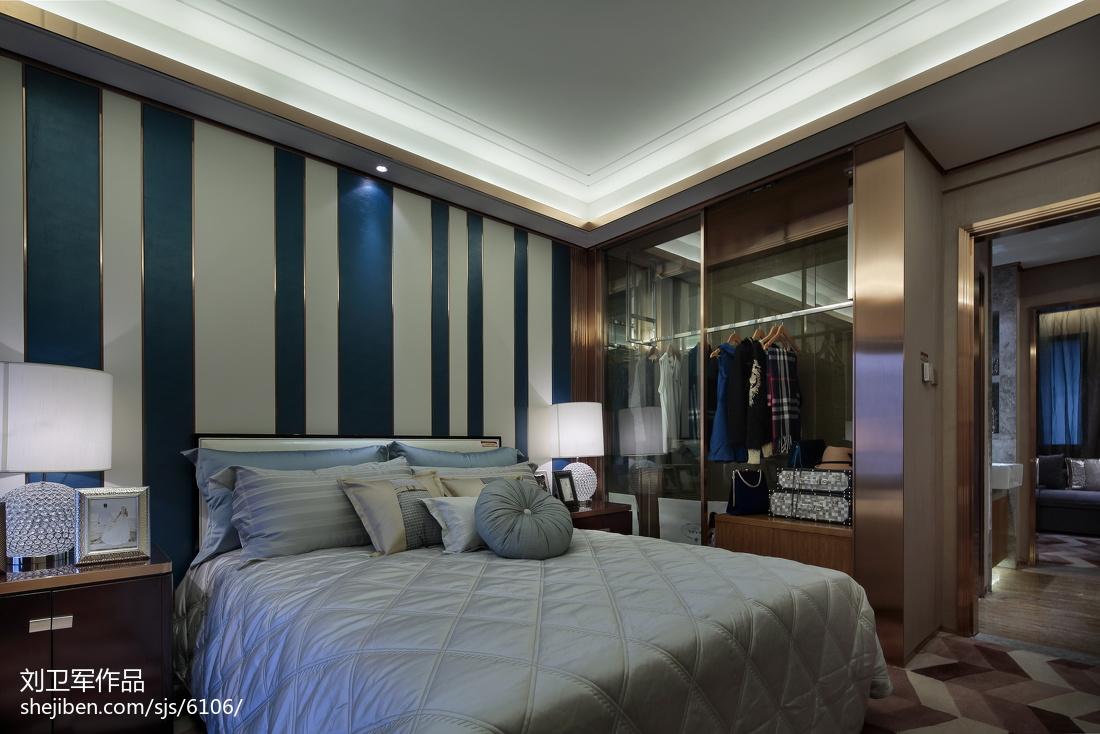 2018卧室现代效果图