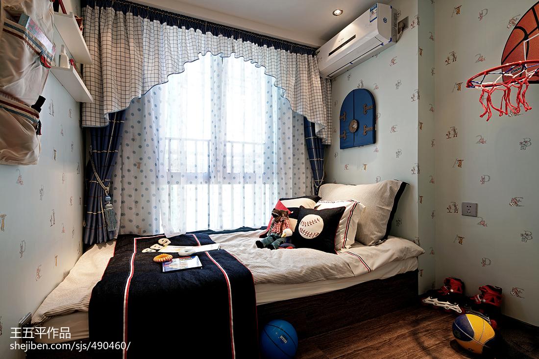 样板房现代儿童房装修效果图
